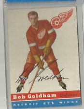 1954-55 Topps Hockey Bob Goldham Card # 46 Vg-Ex Condition