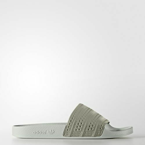 Adidas adilette hombre  by9904 Tech beige verde Slide Sandals