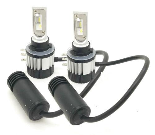 H15 CSP LED Headlight Bulbs Kit 7600 Lumens 9-16V Canbus Error Free 44w DRL