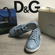 BNIB DOLCE & GABBANA Leather Sneakers Trainers RRP £135 UK 3.5 Eu 36 100%Genuine