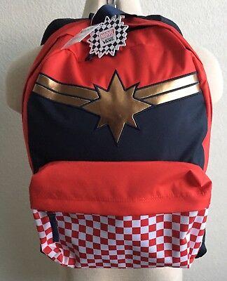 New Captain Marvel Vans Backpack   eBay