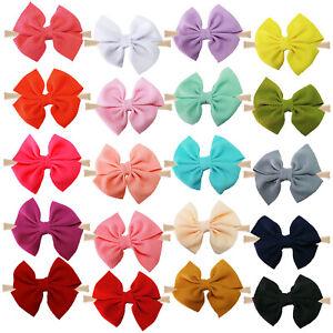 20pcs-4-5in-Hair-Bows-Soft-Elastic-Nylon-Headband-for-Baby-Girls-Infants-Toddler