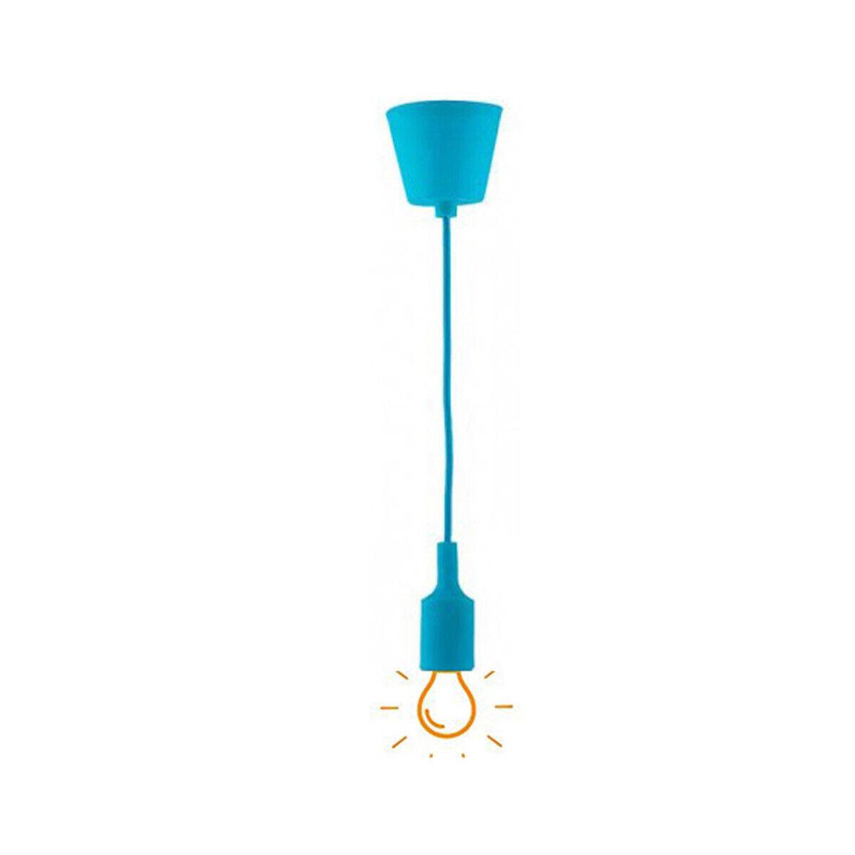 E27 PVC Lampenhalter Deckenlampe PVC Anhänger Lampenfassung Fassung Modern