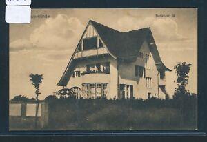 """Fougueux 30225) Ak Travemünde (maison) """"bâbord"""", Bp Lübeck-niendorf (baltique) Z.155-afficher Le Titre D'origine"""