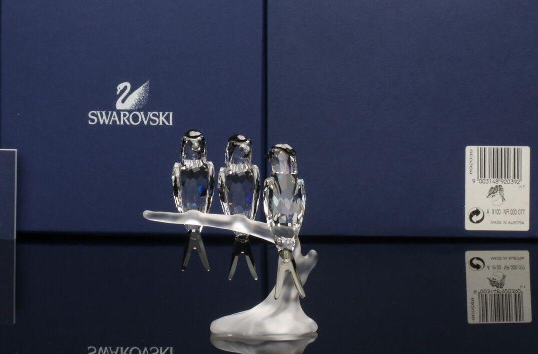 SWAROVSKI Crystal FIGURINE Swallows 892039