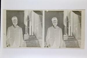 Ritratto-Uomo-Tipo-Africano-Foto-Stereo-Negativo-Su-Film-Morbido-Ca-1911