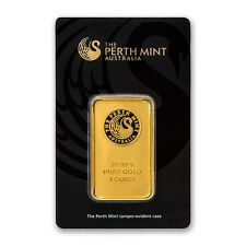 1 oz Gold Bar - Perth Mint (In Assay) - eBay - SKU #84706