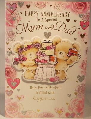 To A Special Papa Sur Votre Anniversaire Carte 19.25cm x 13.25cm