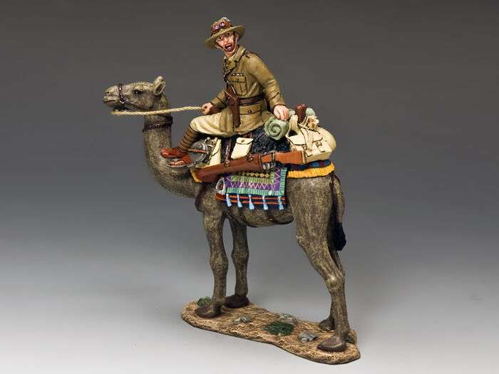 KING AND COUNTRY AUSTRALIAN LIGHT HORSE Australian Officer on Camel AL36 AL036