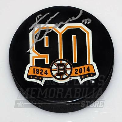 Zdeno Chara Boston Bruins Signed Autographed 2010 Winter Classic Puck