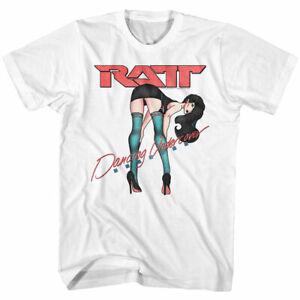 Ratt-Dancing-Undercover-T-Shirt-Mens-Licensed-Rock-N-Roll-Band-Tee-Retro-White