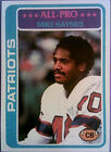 1978 Topps Mike Haynes New England Patriots #380 Football Card