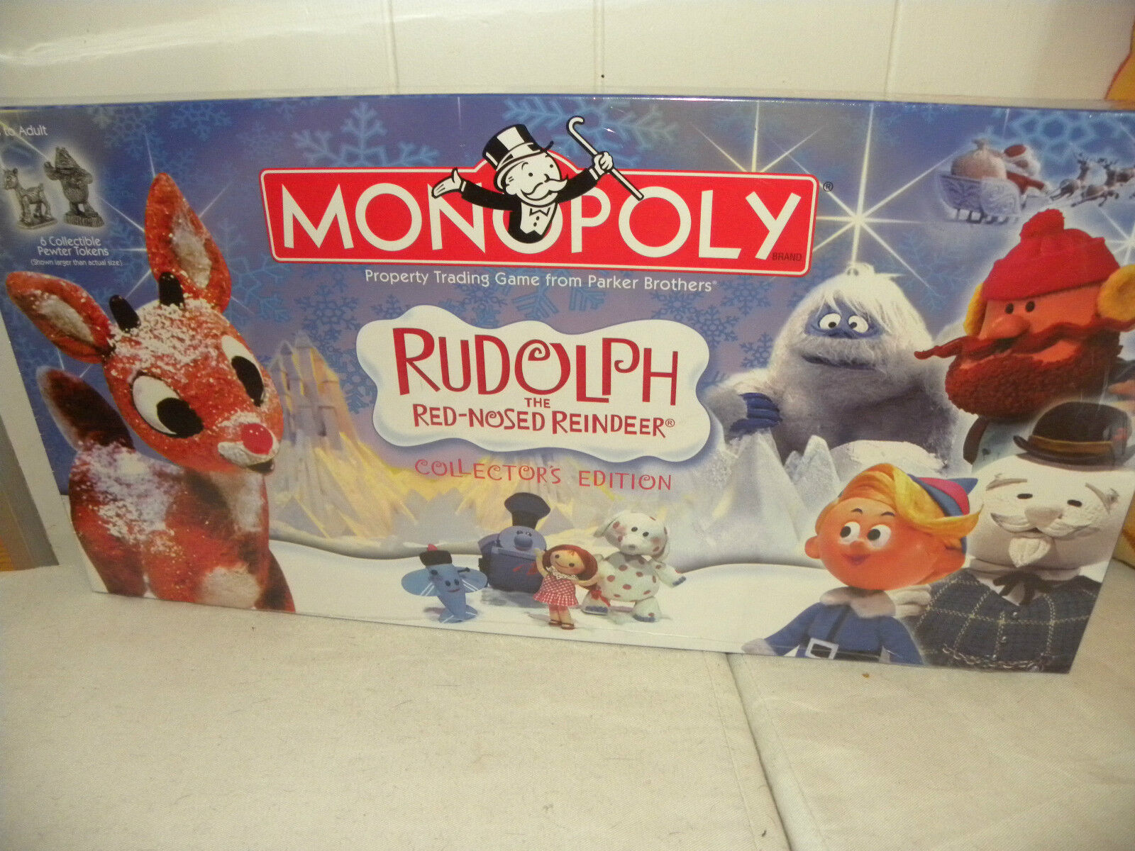 NEW   STILL SEALED   2006 RUDOLPH THE rot-NOSED REINEER  MONOPOLY LMTD EDITION