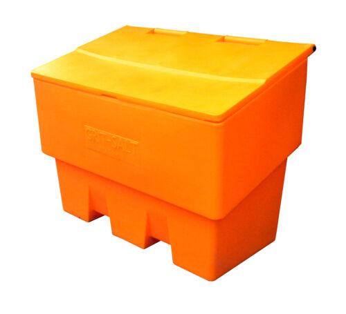 Grano amarillo bin/Cubo de almacenamiento de sal de roca-Papelera de 400 litros de capacidad