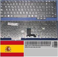 Clavier Qwerty Espagnol Samsung R517 R523 R620 Ba59-02833d 9z.n5lsn.00s Noir