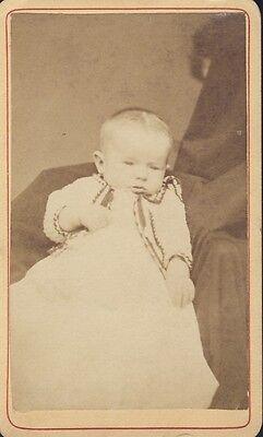 Hidden Mother Holding Baby Burlington Iowa Cdv Carte De Visite Circa 1880 Ebay