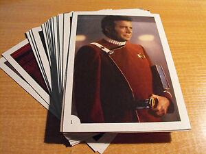Star-Trek-Wrath-de-Khan-FTCC-Lot-de-30-CARTE-POSTALE-taille-cartes