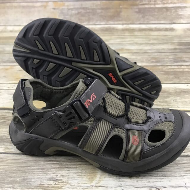1944af5fc TEVA OMNIUM Bungee Cord Sport Sandals Mens 7 Closed Toe Fisherman Shoes