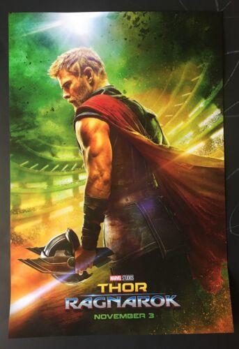 "Thor Ragnarok Hulk Loki Odin Heimdall Valkyrie Sif Marvel Movie Poster 13""x19"""