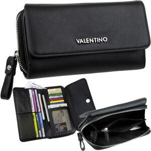 VALENTINO-Damen-Brieftasche-Portemonnaie-Geldboerse-Geldtasche-Geldbeutel-Wallet