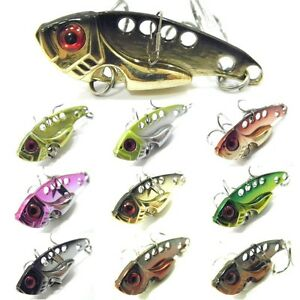 wlure blade lure metal fishing lures for bass fishing bl3 | ebay, Fishing Bait