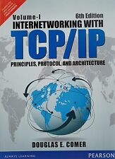 New Internetworking with TCP/IP Volume One by Douglas E. Comer 6ed INTL ED