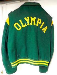 1960 s high school varsity wool coat greece olympia