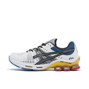 Details about Men's Asics GEL Kinsei OG Running Shoes WhiteMetropolis 1021A117 100