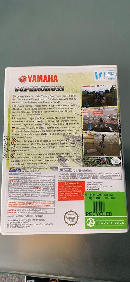 Yamaha Supercross, Nintendo Wii, racing
