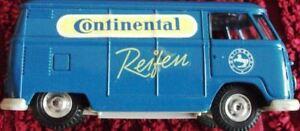 Pneus rares 955 Gama Minimod Vw T1 Van Continetal 1:43 tout neuf, vieux stock, neuf