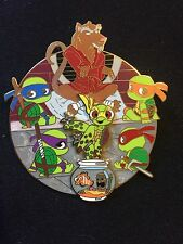 Teenage Mutant Ninja Turtles Nemo Squirt LE 50 Disney Fantasy Pin HTF Jumbo
