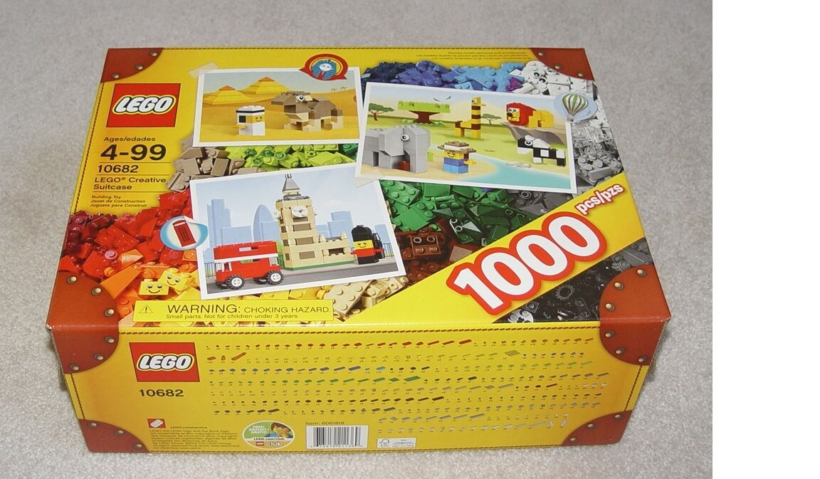 Lego Creative 10682 Suitcase Brand New Sealed Sealed Sealed Set 3ce4fd