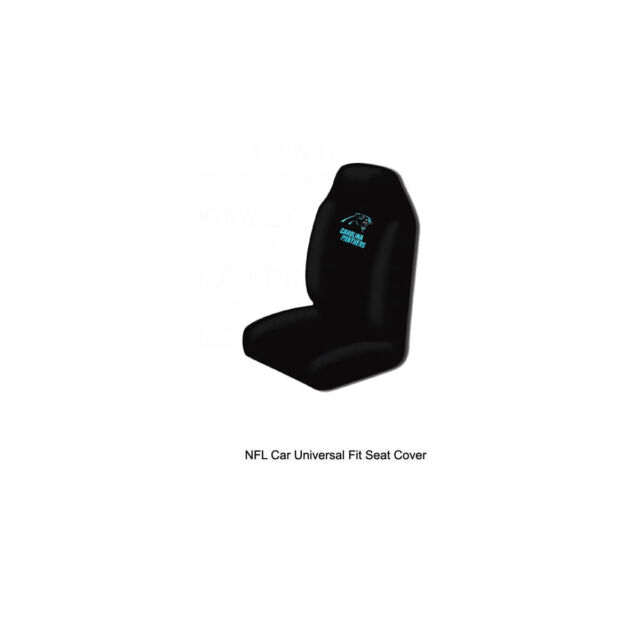 Northwest NFL Carolina Panthers Universal Fit Car Truck Front Bucket Seat Cover