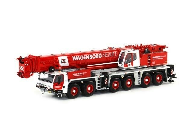 nouveau WSI 01-1471 TADANO ATF 400G-6 CRANE-WAGENBORG nedlift 1  50 O Scale Comme neuf IN BOX  nouvelle marque