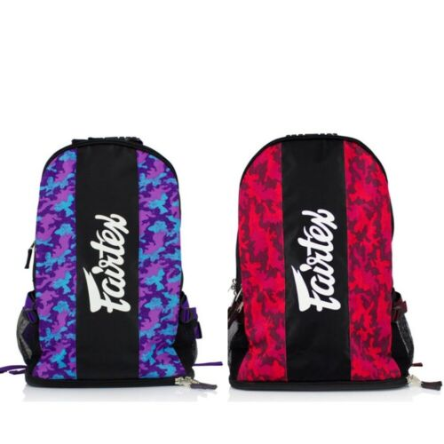 Fairtex Rucksack Gym Bag MMA Camo Back Pack Muay Thai Carryall BJJ Gear Bag