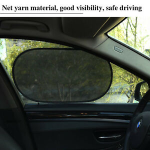 Auto-Car-Size-Window-Sunshade-Sun-Shade-Cover-Visor-Mesh-Shield-UV-Block-Protect