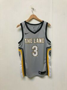 quality design a9a76 43dae Details about Nike Men's NBA Cleveland Cavaliers Game Jersey - Medium -  Thomas 3 - Grey - New