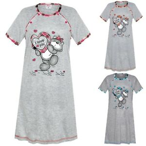 Maternity-Women-039-s-Nightshirt-Nursing-Nightdress-Pregnancy-Breastfeeding-Nightie