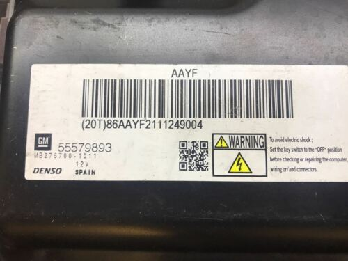 VAUXHALL  1.7 CDTi 16V 5DR ENGINE ECU 55579893 MB275700-1011