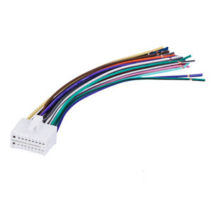 18pin stereo radio wiring wire harness for clarion skcl18 21 car rh ebay com