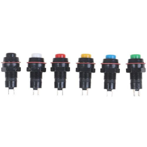 Selbstrückstellender Drucktastenschalter 10mmZD 5Pcs Self-Reset-Druckschalter