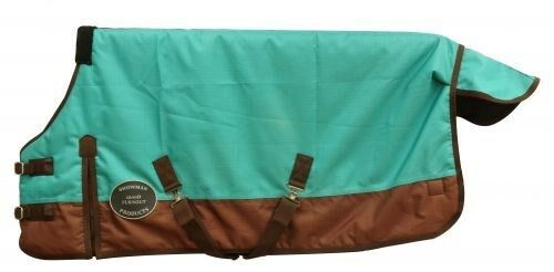 Showman TEAL Adjustable 48 -54   1200 Denier Winter PONY YEARLING Blanket  NEW   2018 store