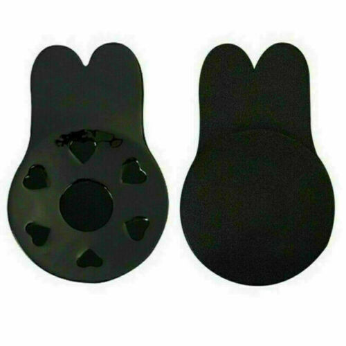 Freedom Bra Invisible Breast Lift Silicone Nipple Covers Push Up Rabbit Pads UK