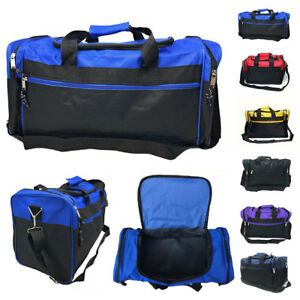 Duffle-Duffel-Bag-Bags-Carry-on-Travel-Sports-Luggage-Shoulder-Strap-Gym-17-inch