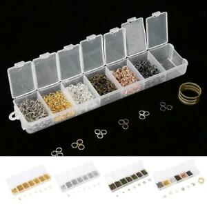 1-Box-Open-Jump-Rings-Round-Oval-Split-findings-Craft-Jewelry-DIY-Findings-Tools