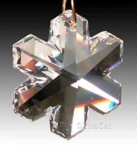 Swarovski-8811-6704-Austrian-Crystal-SNOWFLAKE-Prism-35mm-Suncatcher-1-3-8-034
