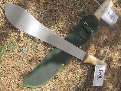 2 x MACHETE  BUSCHMESSER Messer AXT  Beil nur 450gr 36cm KLINGE