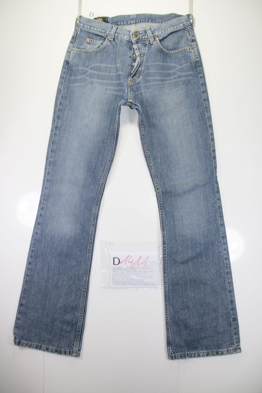 Lee Flare Bootcut (Cod. D1411) Tg44 W30 L34 jeans used High Waist Vintage street