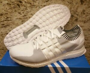 25fb636b4e2f Image is loading Adidas-EQT-Support-Ultra-Primeknit-BOOST-Vintage-White-