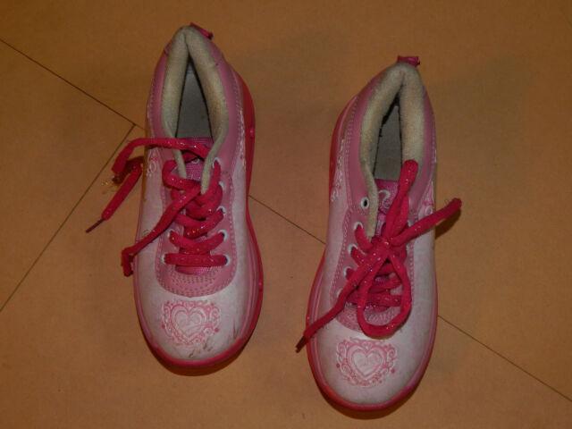 Barbie Pop Heel Roller Skate Shoes Size